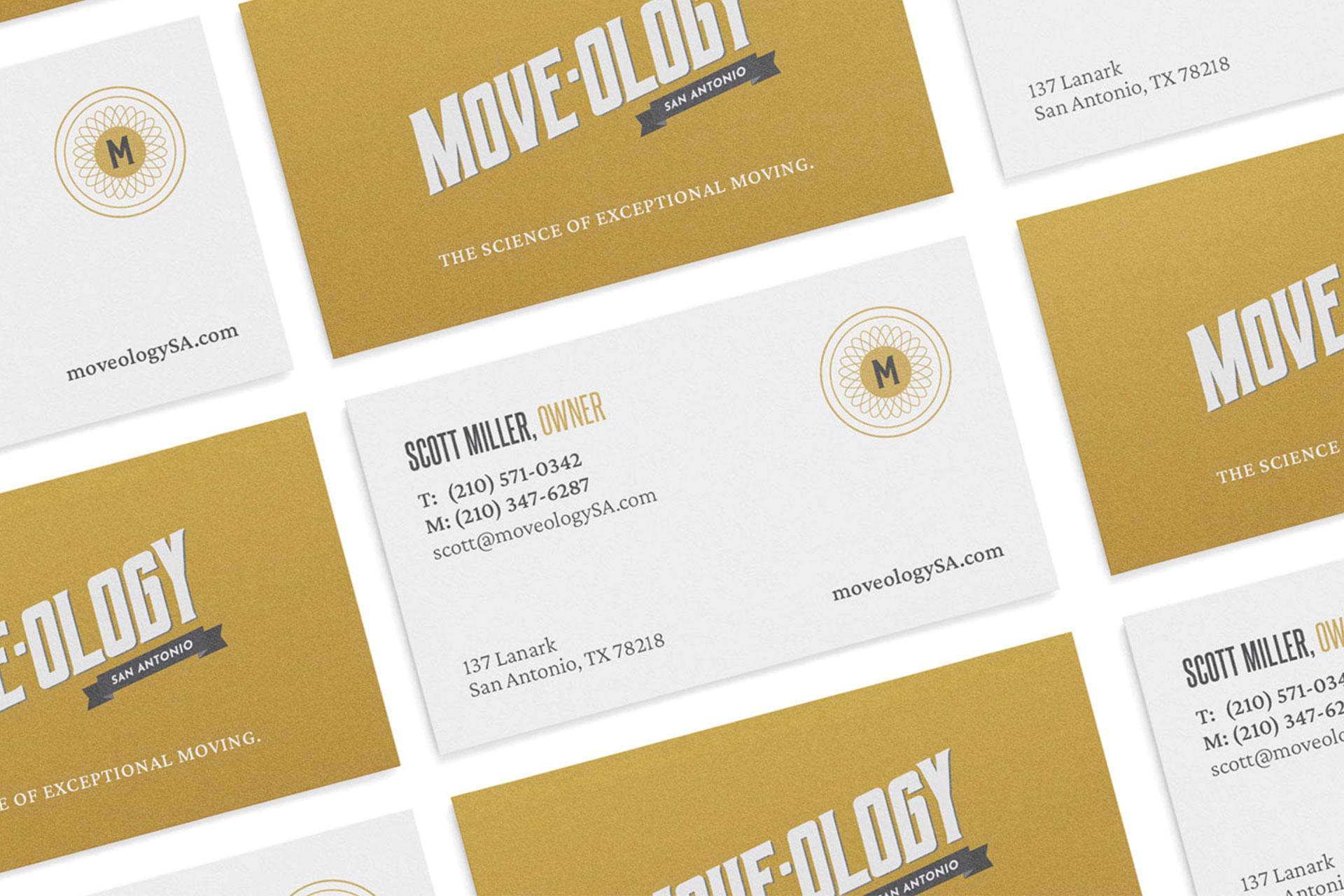 Moveology business cards