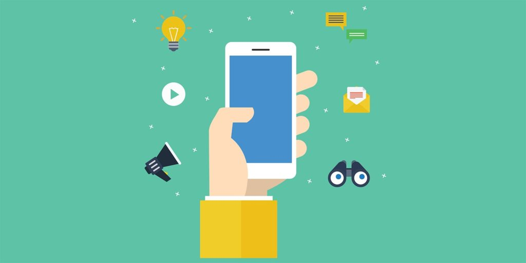 social media marketing engagement graphic